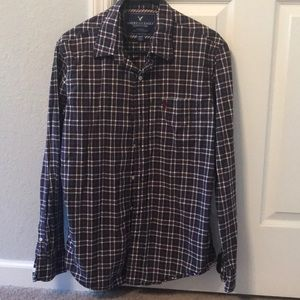 American Eagle men's button down shirt